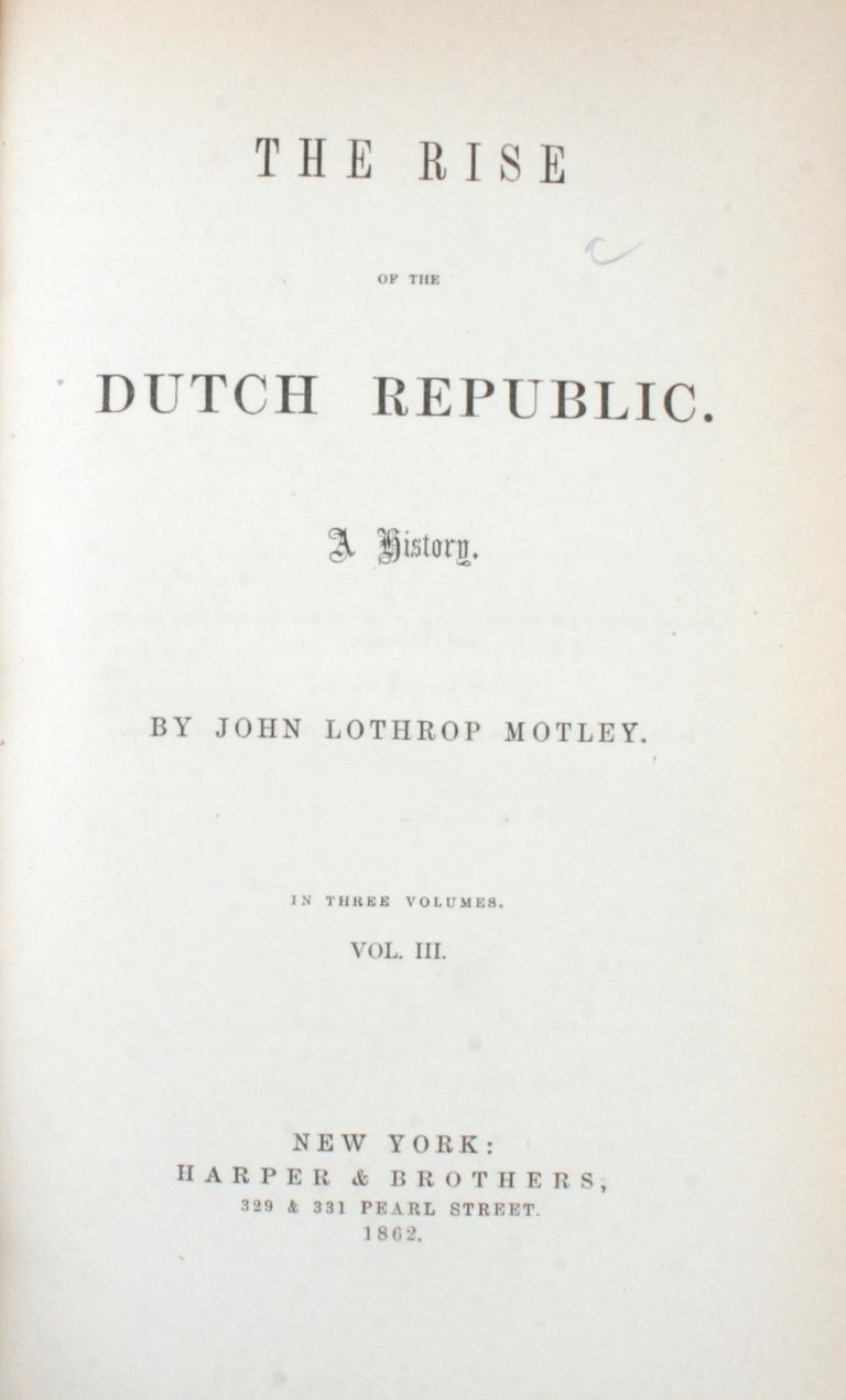 7 Volume Leather Bound Set, Dutch Republic and United Netherlands, First Edition For Sale 4
