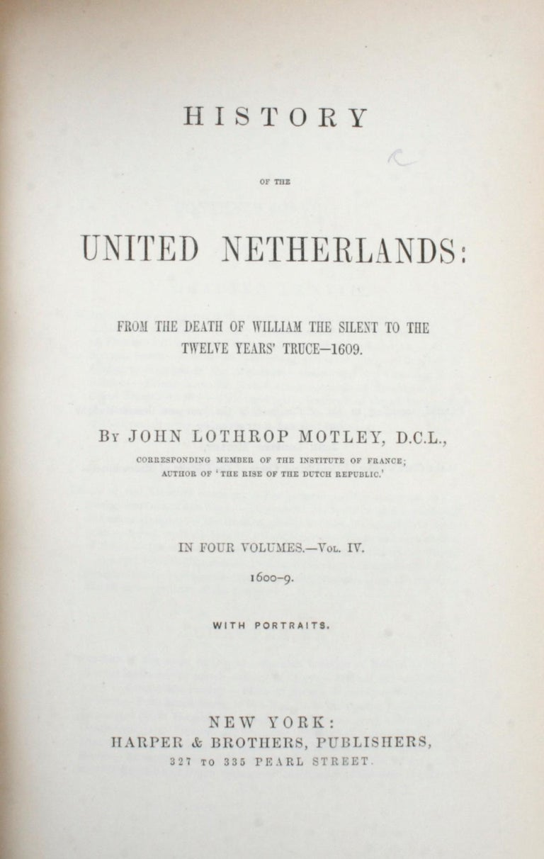 7 Volume Leather Bound Set, Dutch Republic and United Netherlands, First Edition For Sale 6