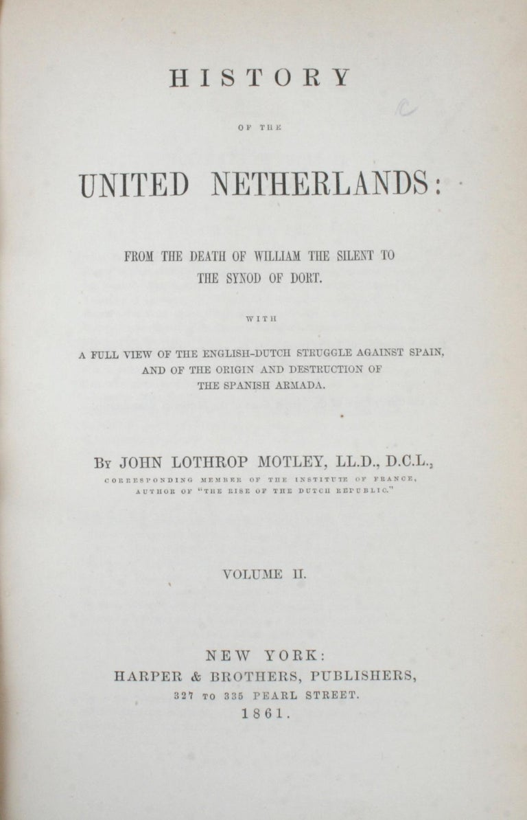 Paper 7 Volume Leather Bound Set, Dutch Republic and United Netherlands, First Edition For Sale