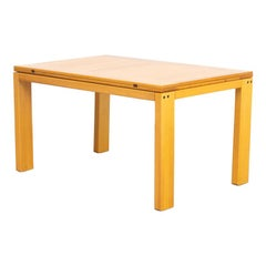 70 Beech Wood Extendable Dining Table for Ibisco
