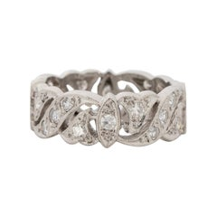 .70 Carat Total Weight Art Deco Diamond Platinum Engagement Ring