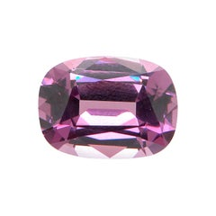 7.06 Carat GRS Certified Unheated Cushion-Cut Burmese Purple Pink Spinel