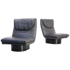 1970s Ammannati & Vitelli Lounge Fauteuil for Comfort, Set of 2