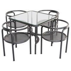 1970s Gae Aulenti 'da Giardino locus solus' Table Set for Poltronova