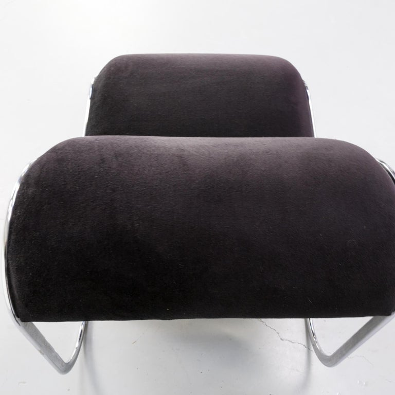 4 Lounge Stoelen.1970s Loop Lounge Chair Slipper Chair For Sale At 1stdibs