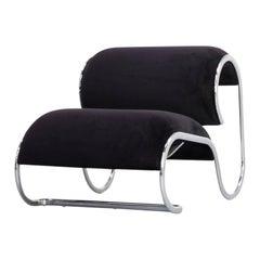 1970s Loop Lounge Chair, Slipper Chair