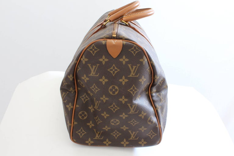 70s louis vuitton monogram keepall travel duffle bag french company 45cm rare for sale at 1stdibs