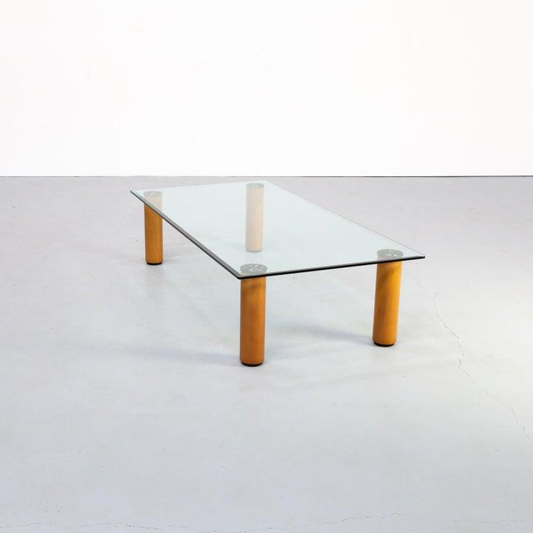 Mid-Century Modern 1970s Marco Zanuso 'marcuso' Coffee Table for Zanotta For Sale