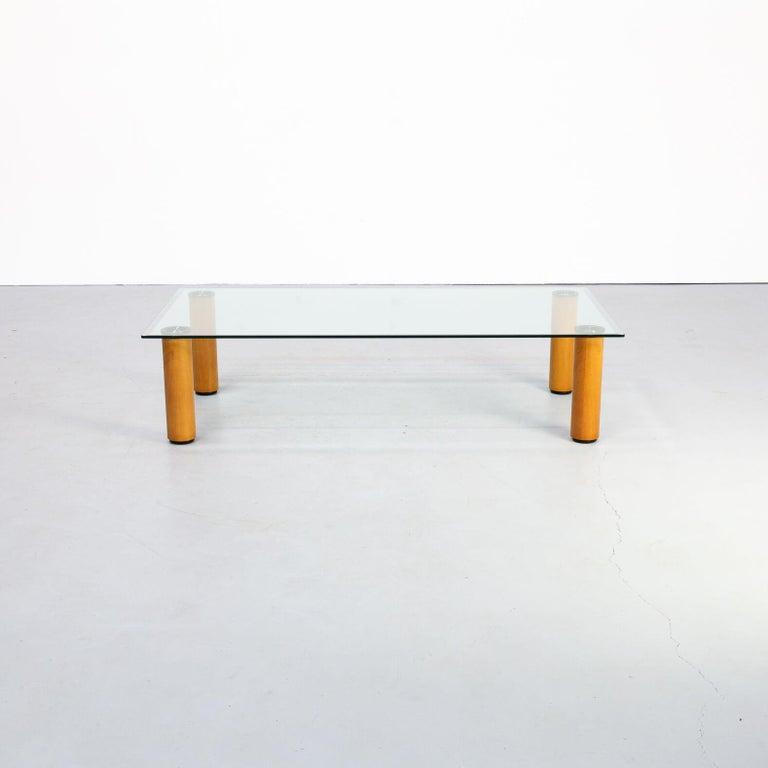 Italian 1970s Marco Zanuso 'marcuso' Coffee Table for Zanotta For Sale