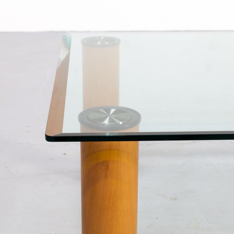1970s Marco Zanuso 'marcuso' Coffee Table for Zanotta For Sale 1