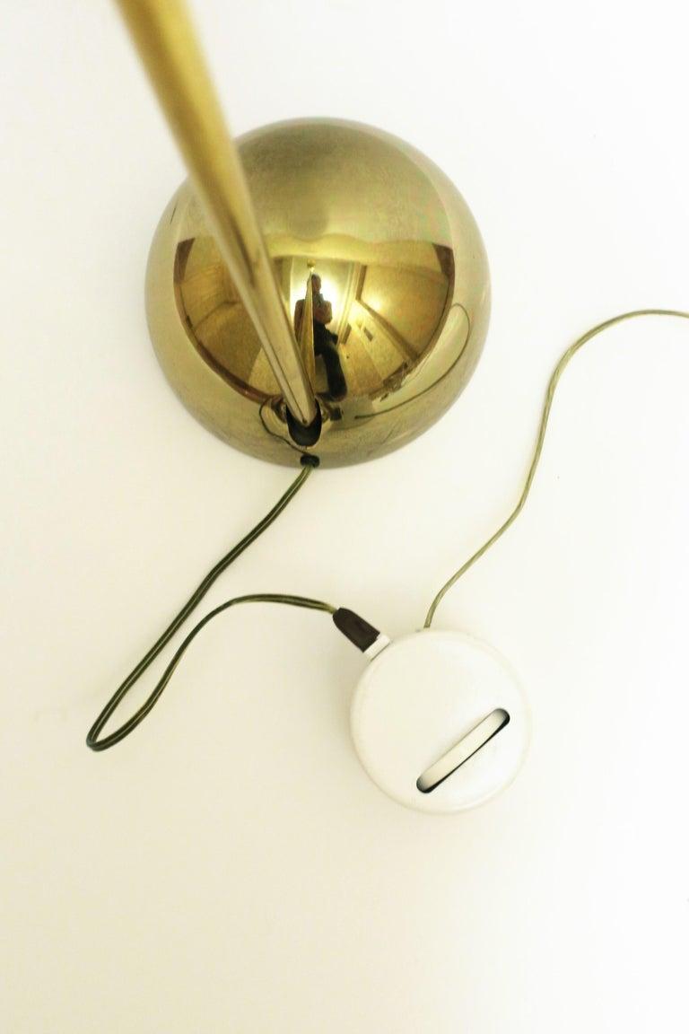 1970s Modern Brass Floor Lamp For Sale 4