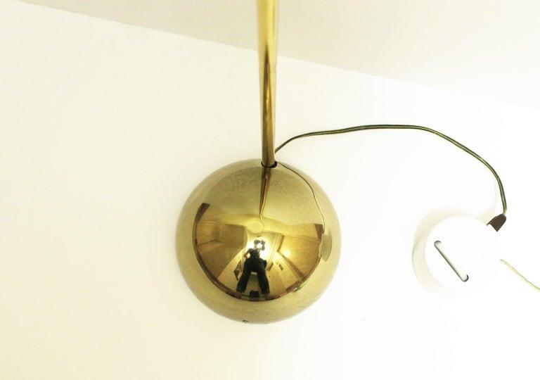 1970s Modern Brass Floor Lamp For Sale 3
