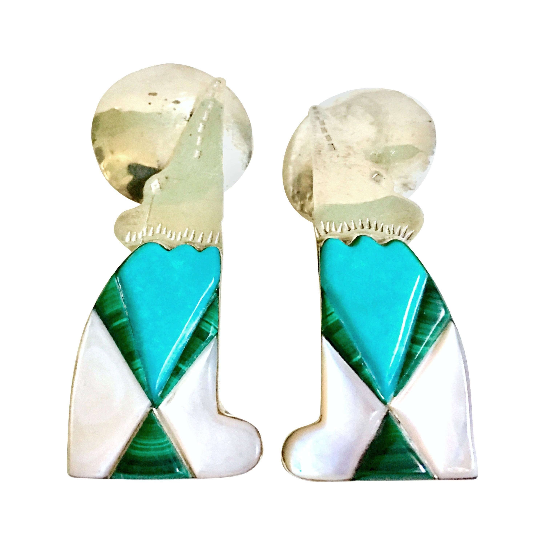 Native American Dangle Earrings