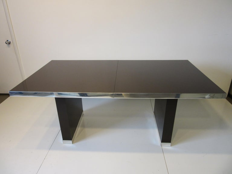 70's Pierre Cardin Pedestal Dining Table For Sale 7