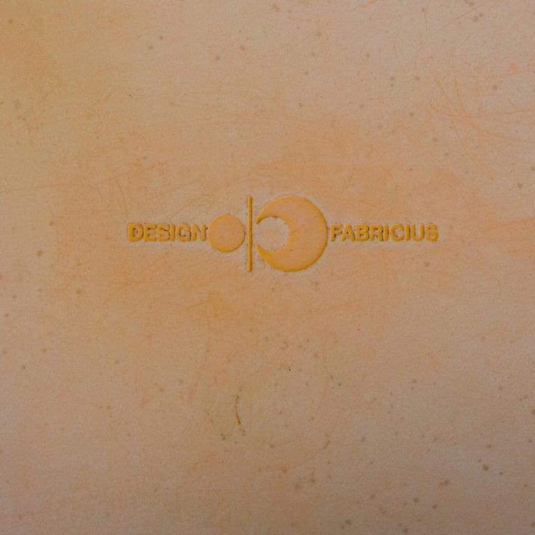 1970s Preben Fabricius Design Dining Table Set for Interplast For Sale 4