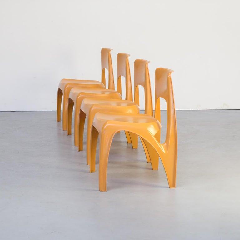 1970s Preben Fabricius Design Dining Table Set for Interplast For Sale 5