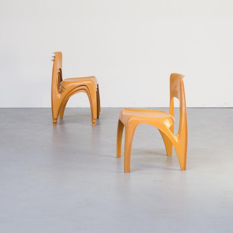 1970s Preben Fabricius Design Dining Table Set for Interplast For Sale 6