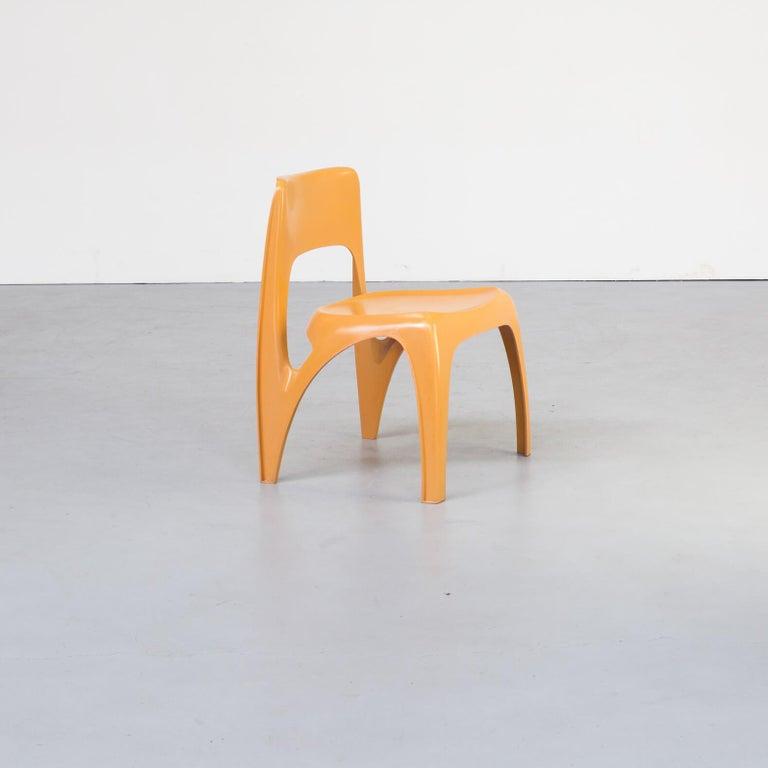 1970s Preben Fabricius Design Dining Table Set for Interplast For Sale 8