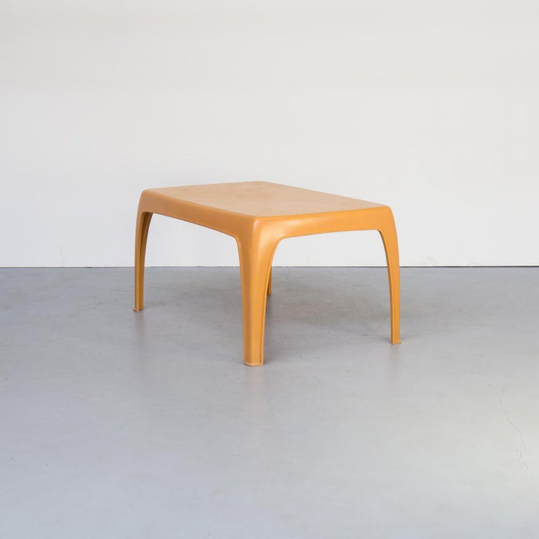 Danish 1970s Preben Fabricius Design Dining Table Set for Interplast For Sale