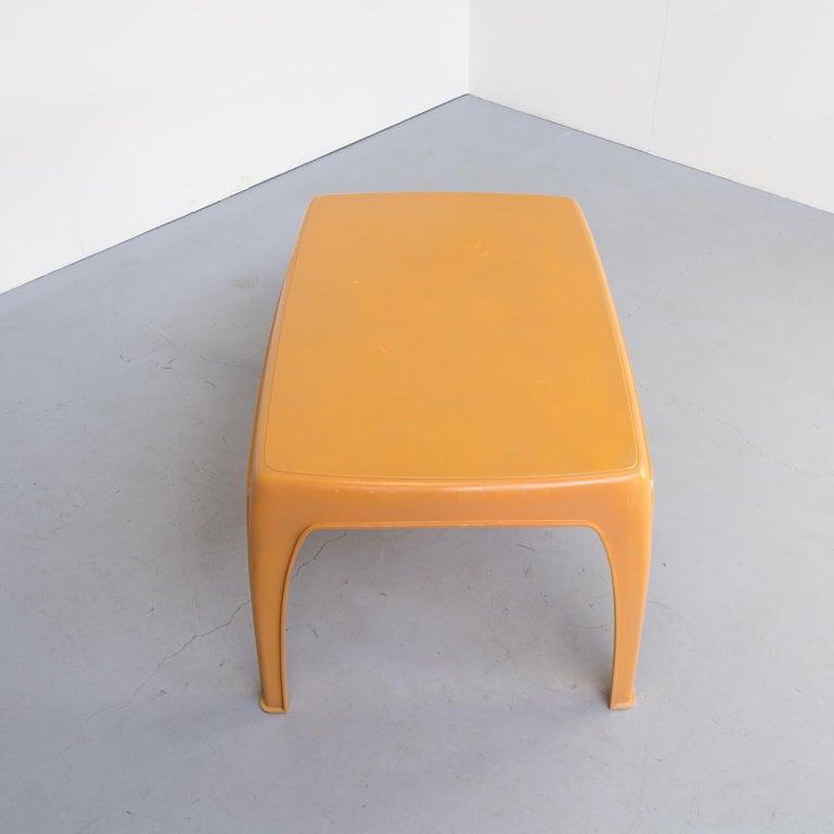 20th Century 1970s Preben Fabricius Design Dining Table Set for Interplast For Sale