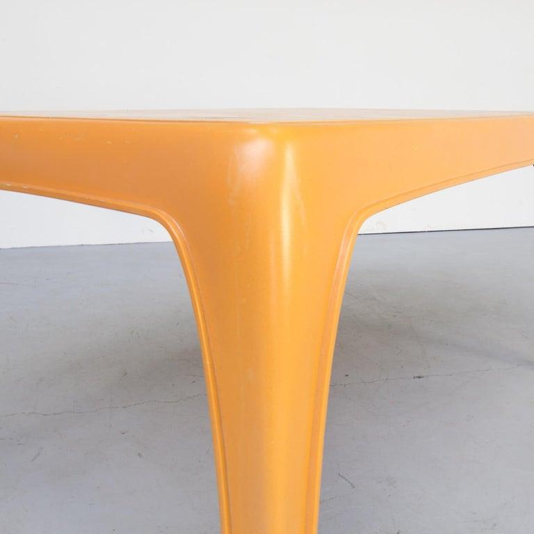 Fiberglass 1970s Preben Fabricius Design Dining Table Set for Interplast For Sale