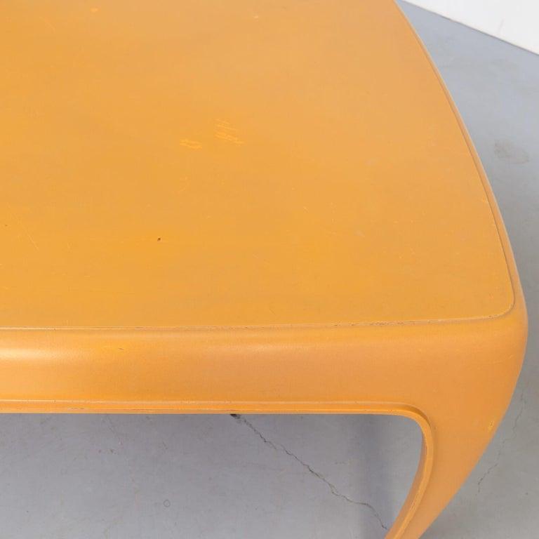 1970s Preben Fabricius Design Dining Table Set for Interplast For Sale 1