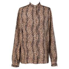 70's printed shirt Guccio Gucci