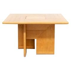 70s Silvio Coppola 'tavolo quadrato' Dining Table for Fratelli Montina