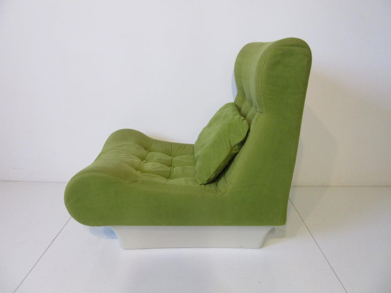 20th Century 1970s Space Age 3-Piece Sofa or Loveseat in the Style of Luigi Colani For Sale