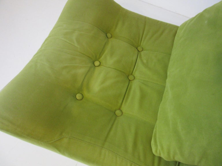 1970s Space Age 3-Piece Sofa or Loveseat in the Style of Luigi Colani For Sale 1