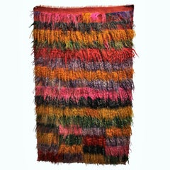 1970s Style Wool Turkish Kilim