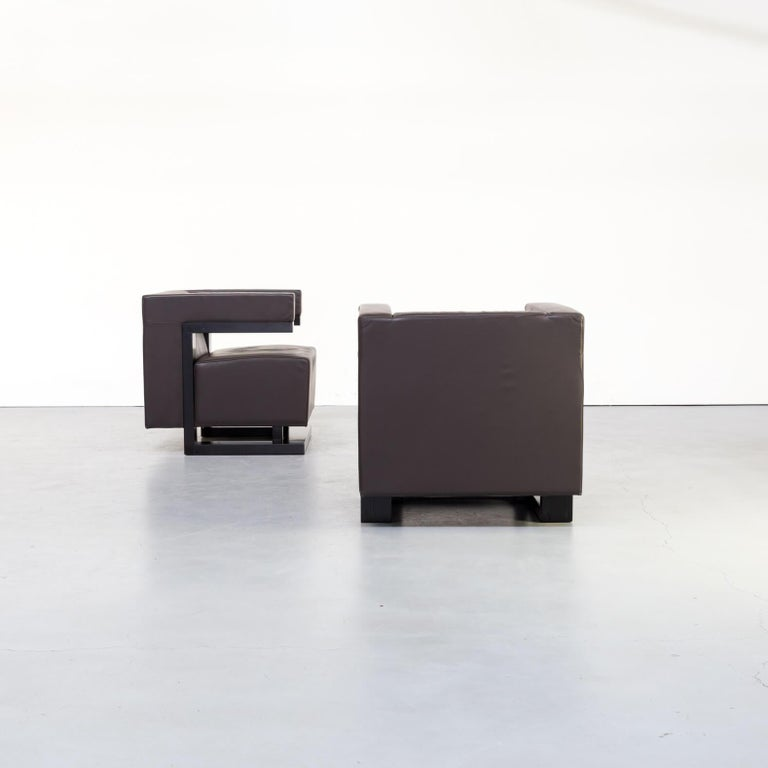 Leather 1970s Walter Gropius 'F51 Armchair' for Tecta Set of 2
