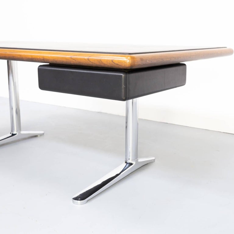 20th Century 1970s Warren Platner Executive Writing Desk for Knoll International For Sale