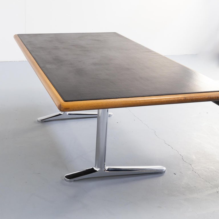 1970s Warren Platner Executive Writing Desk for Knoll International For Sale 1
