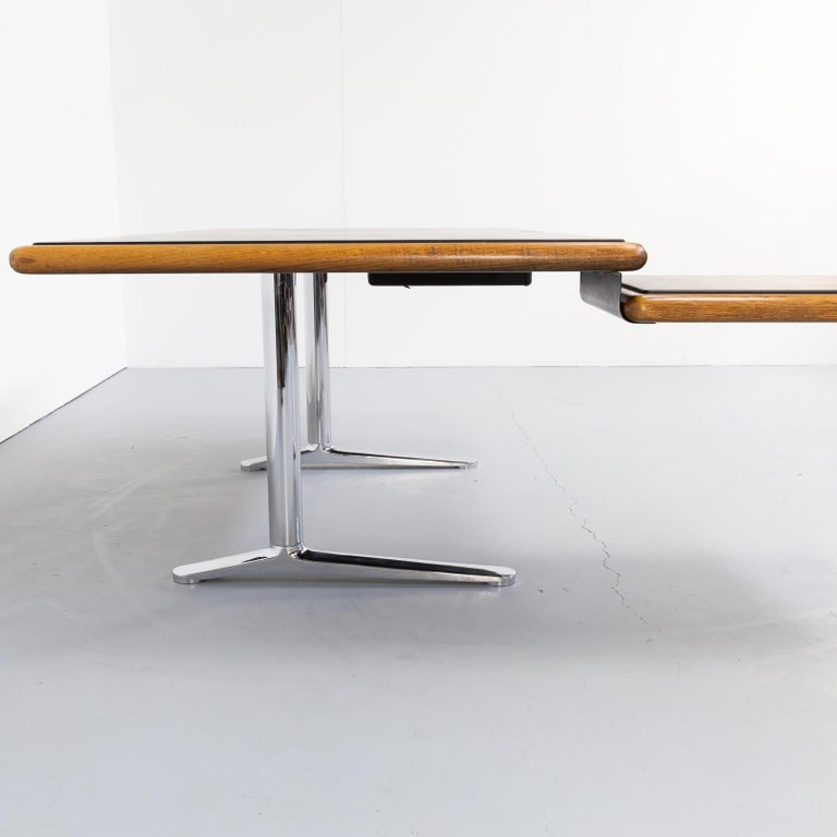 1970s Warren Platner Executive Writing Desk for Knoll International For Sale 2
