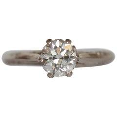 .71 Carat Diamond White Gold Engagement Ring