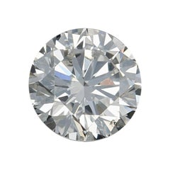 .71 Carat Loose Diamond, Round Brilliant Cut GIA Graded I1 H Solitaire