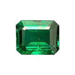 7.13 Carat GRS Certified Octagonal-Cut No Oil Emerald