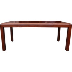 ICF Helikon Flame Mahogany Table Desk