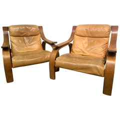 722 Woodline Armchair by Marco Zanuso, 1970, Rosewood, Italian Midcentury
