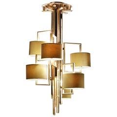 7238 Brass Chandelier