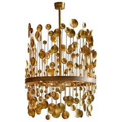 7246 Brass Chandelier