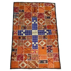 725, Very Beautiful 20th Century Indian Textile Patchwork