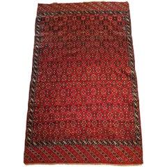 729 - Yomud Turkmene Carpet, 19th Century