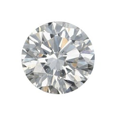 .73 Carat Loose Diamond, Round Brilliant Cut GIA Graded SI1 H Solitaire