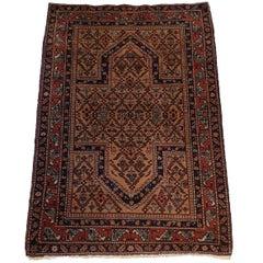 730 - Caucasian Chirvan Carpet, 19th Century