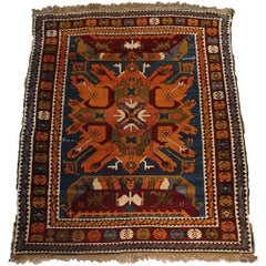 734 - Kazak Turkish Carpet, 20th Century