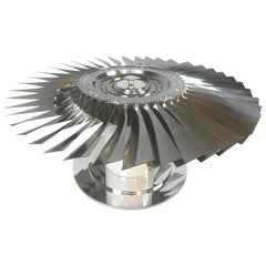 737 LP2 Jet Aircraft Fan Blade Coffee Table
