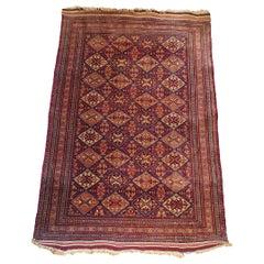 739 - Beautiful Turkmen Bukhara Carpet from the 20th Century