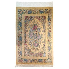 742 - Oriental Carpet, 100 % Silk, 20th Century